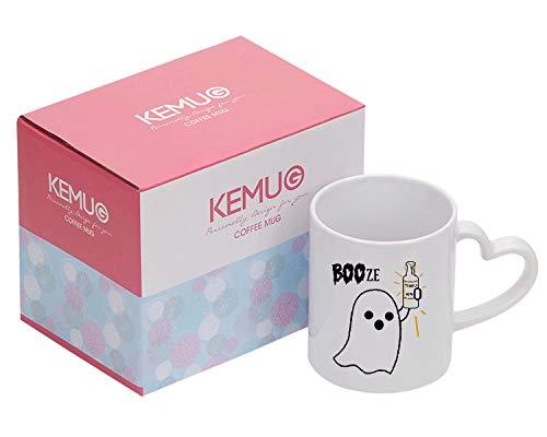 Kemug - Booze Mug - Boo - Booze - Halloween - Ghost - Tequila - Mug - Halloween Mug - Fall Mug - Gift for Him - Gift For Her -
