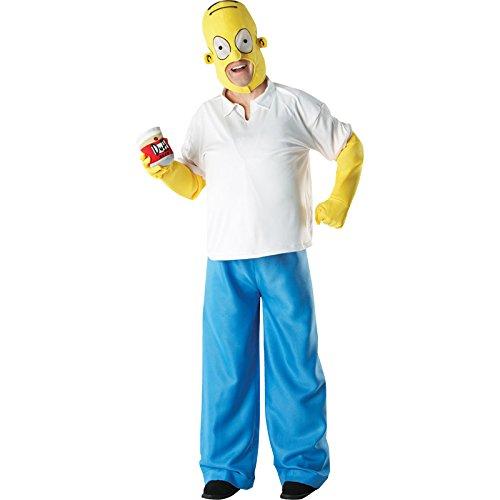 Los Simpson - Disfraz de Homer (talla estándar de adulto) https://amzn.to/2DOTpCu