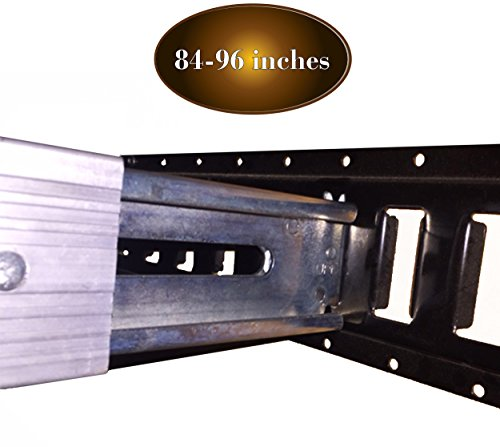"DC Cargo Mall 84""- 96"" Adjustable Aluminum E-Track Decking/Shoring Beam 