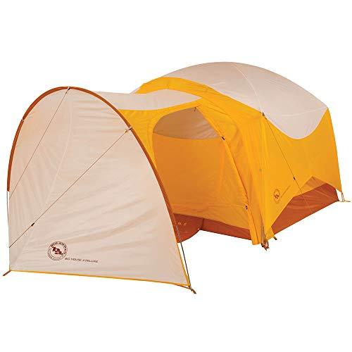 Big Agnes Vestibule, Big House 4 DLX, 4 Person, Gold/White (Best 4 Person Tent With Vestibule)