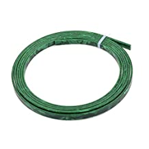 Cool Guitar Parts Celluloid Guitar Binding Body project Purfling Strip 1650x 5x1.5mm Green Pearl,MusicOne