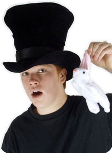 Elope Magician with Rabbit Hat Accessory (Rabbit Costumes For Adults)