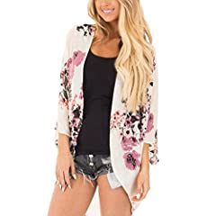 Features:  1.It is made of high quality materials,durable enought for your daily wearing  2.Stylish and Breathable, comfortable, prevent bask in design make you more attractive.  3.Perfect Match with your favorite Summer shorts,leggings, bla...