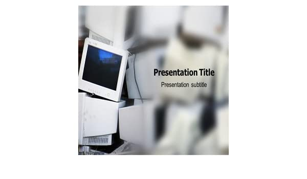 Amazon Computer Recycle Powerpoint Template Powerpoint