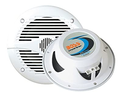 "BOSS AUDIO MR50W Marine 5.25"" 2-way 150-watt Full Range Speakers from BOSS AUDIO"