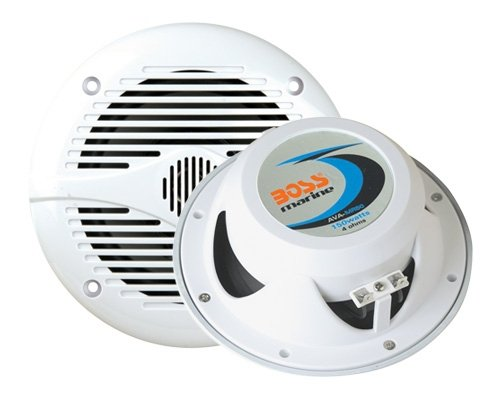Marine Speakers | BOSS Audio MR50W 150 Watt (Per Pair), 5.25 Inch Full Range, 2 Way, Weatherproof (Sold in Pairs)
