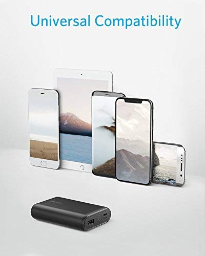 Anker PowerCore 10000, One of The Smallest and Lightest 10000mAh External Batteries, Ultra-Compact, High-Speed Charging Technology Power Bank for iPhone, Samsung Galaxy and More by Anker (Image #4)