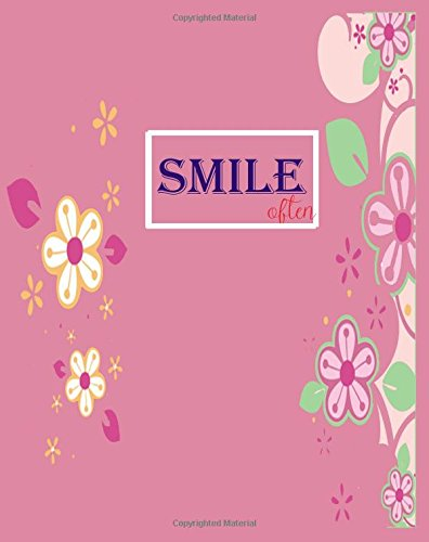 Download Smile often ( Lined Journal/Notebook): The Inspiration Journal/Notebook Can be used as Diary Or gift for friends (Inspiration Blank Journal) pdf epub