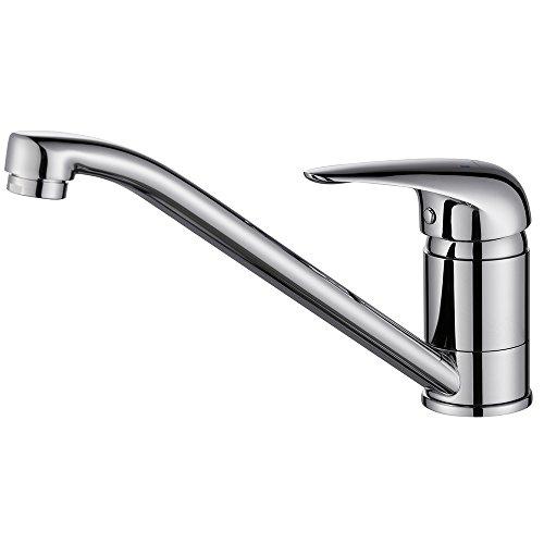 Homelody® Chrom Wasserhahn Niederdruck Küche Armatur Wasserkran ...