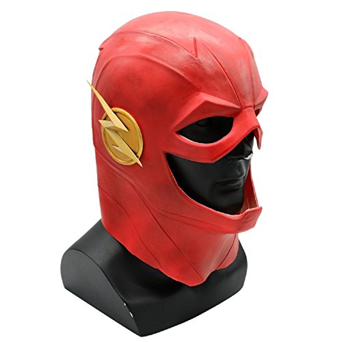 Joyfunny The Superhero Cosplay Latex Overhead Mask Halloween Xmas Party Cosplay Props Type A -