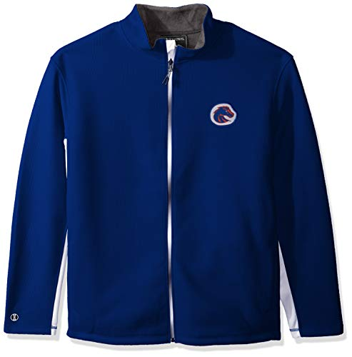 Ouray Sportswear NCAA Boise State Broncos Invert Jacket, Royal/White, Small