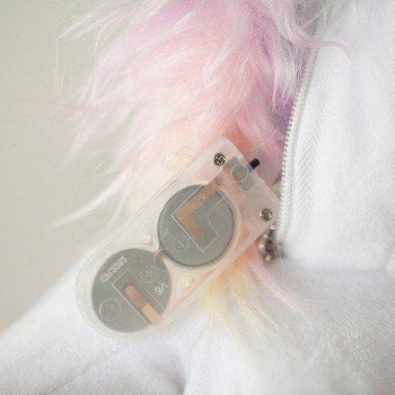 Smoko Women's Unicorn Light Up Slippers – One Size – DiZiSports Store