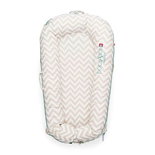 Sale!! DockATot Deluxe+ Dock (Silver Lining) - The All in One Baby Lounger - Perfect for Co Sleeping...