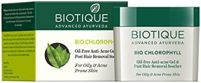 Biotique Chlorophyll Oil Free Anti-Acne Gel and Post Hair ...
