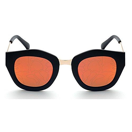 UV de Aire de Libre Marco Ojos Completo Moda de Ojos Unisex Lente Proteccion Conducción Protección al Sol de C6 Tonos Color Gato Gafas Viajar C1 Color de zUqBq