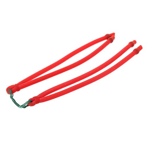 Koungyun Slingshot Band Group Elastic Rubber Bands Latex Powerful Catapult Replacement Hunting Shooting Outdoor Sports Fishing Supplies
