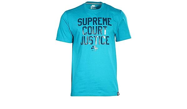 NIKE T-Shirt AF1 Supreme Court Justicel - Camiseta/Camisa ...