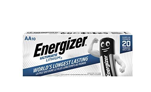 pila de litio energizer