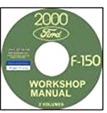 2000 FORD 150 TRUCK & PICKUP REPAIR SHOP & SERVICE MANUAL CD For All Models
