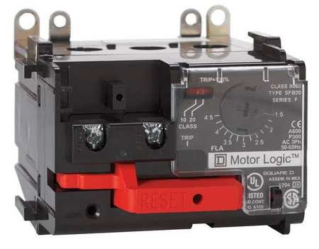 Ovrload Relay, 15 to 45A, 3P, 600VAC, NEMA 2 by Square D (Image #1)