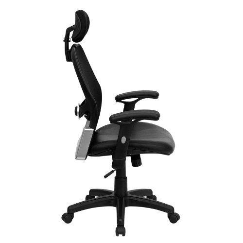 amazon com high back super mesh office chair with black italian