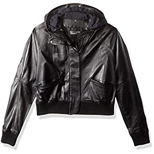 Under Armour Women's Leather Bomber Top