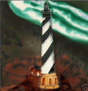 Cape Hatteras Lighthouse Light House Ceramic Wall Art Tile 6x6