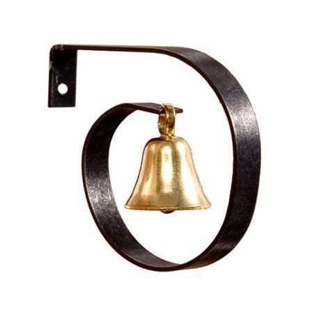 Dollhouse Miniature Brass Dinner Bell (Miniature Bell)