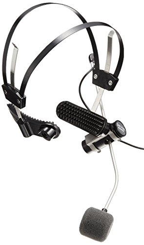 Shure SM10A-CN Cardioid Dynamic, Headworn, includes 5-Feet attached cable with XLR Connector and belt clip by Shure