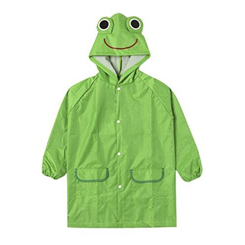 Green Boys Raincoat - 6
