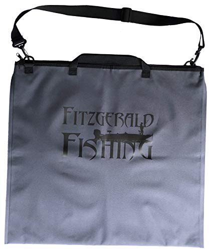 Fish Bag Tournament - Fitzgerald Fishing Tournament Weigh in Fish Bag - Heavy Duty Fish Bags That Transport Fish Safely, are Leak and Rip Resistant, Include Zipper Closure