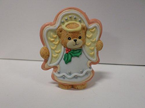 Lucy & Me Series (Enesco) ** Bear Dressed as Angel Christmas Cookie ** 243159