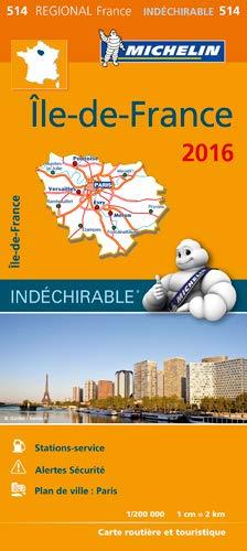 Amazon Fr Carte Ile De France 2016 Michelin Michelin Livres
