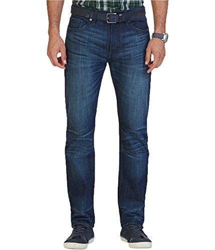 Nautica Mens Athletic Regular Fit Jeans Blue 34x34