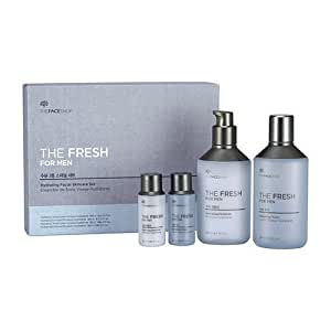 Amazon.com  [The Face Shop] The Fresh For Men Hydrating Skin Care Set (4pcs)  Beauty