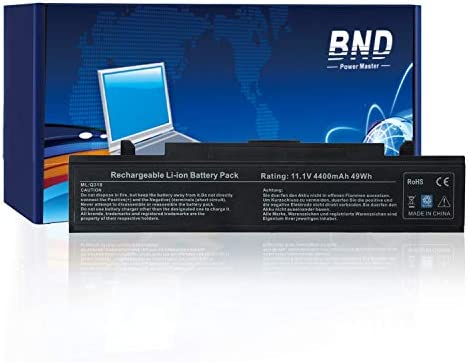 BND Laptop Battery for Samsung R480 R530 R540 R580 R730, fits P/N AA-PB9NC6B PB9NS6B AA-PB9NC6W AA-PB9NC5B AA-PL9NC2B AA-PL9NC6W AA-PB9NC6W/E [6-Cell ...