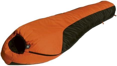 Alpinizmo by High Peak USA Mt. Rainier 20 Degree Sleeping Bag, Orange