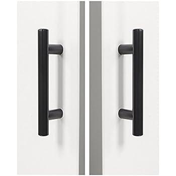 30 Pack Probrico Black Stainless Steel Kitchen Cabinet Door Handles ...
