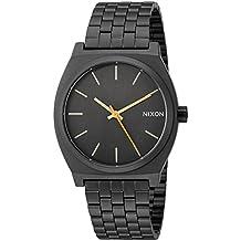 Nixon Men's 'Time Teller' Quartz Metal and Stainless Steel Watch, Color:Black (Model: A0451032-00)