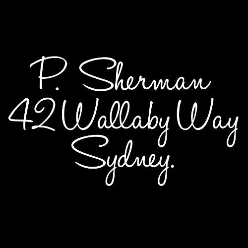 Funny Nemo Dory P Sherman Wallaby Sydney 6