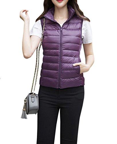 飢えたキリンスロベニアYueLian 春秋 女性用 中綿ベスト ジレー 暖かい 防寒 ジャケット 袖なし シンプル アウターウェア 登山 行楽