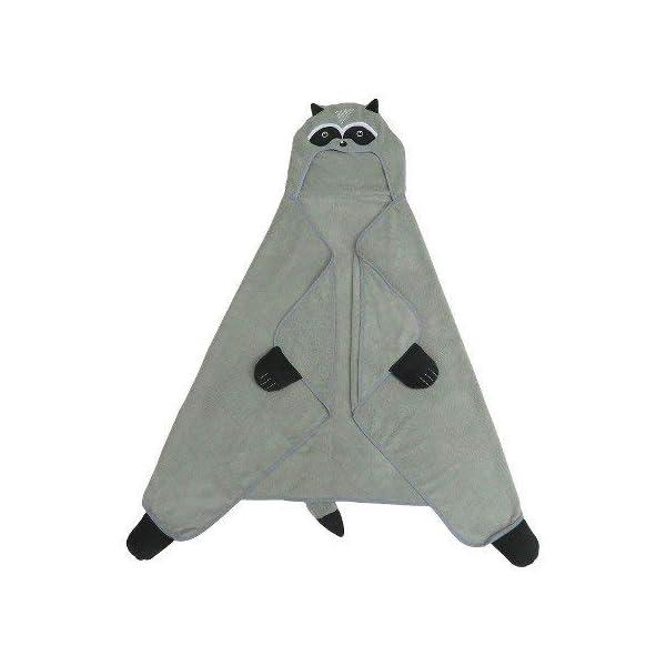 Raccoon-Hooded-Bath-Towel-Gray-Marble