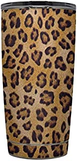 product image for Leopard Spots Protector Skin Sticker Compatible with Yeti Rambler 20oz Tumbler - Ultra Thin Protective Vinyl Decal wrap Cover