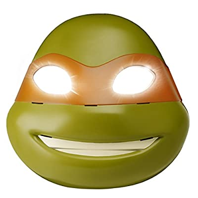 Teenage Mutant Ninja Turtles Michelangelo Electronic Mask: Toys & Games