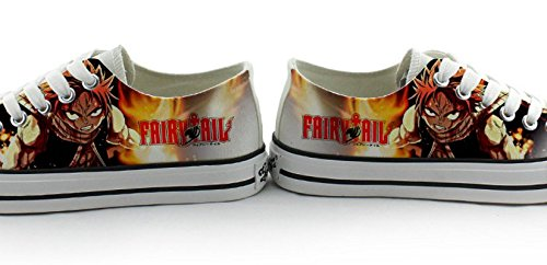 Fée Queue Natsu Lucy Cosplay Chaussures Toile Chaussures Sneakers 2 Choix Coloré 1