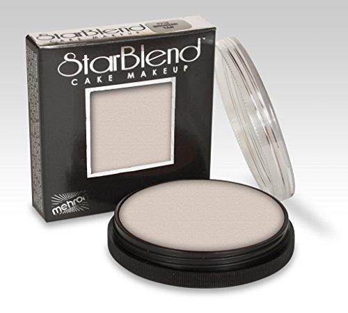 Mehron StarBlend Cake Makeup BUTTERFLY GEISHA 14B- 2 oz. Wet / Dry