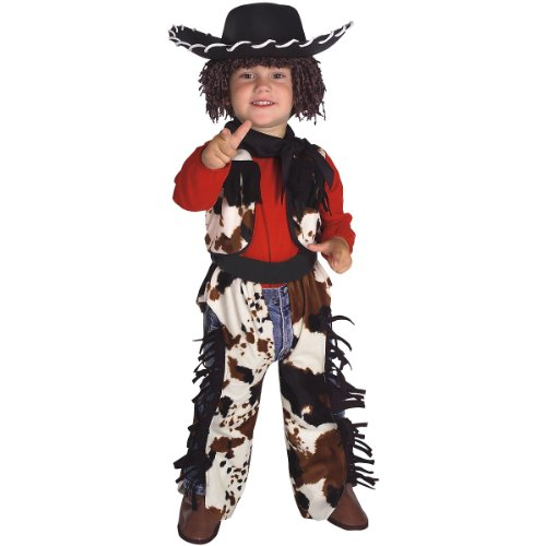 Yarn Babies Cowboy Costume - Toddler (Haloween Costume Ideas For Couples)