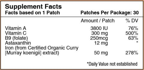 Iron Plus Topical Patch by PatchAid (3-Month Supply)