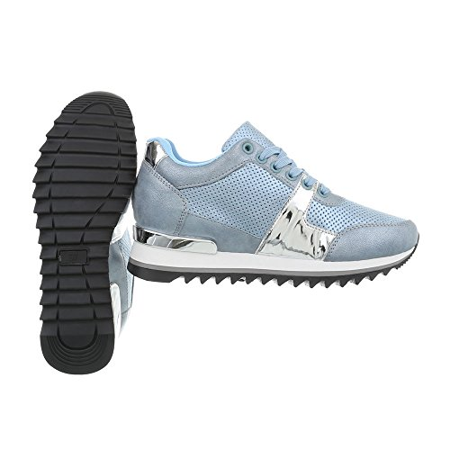 Femme Compensé G Bleue 128 design Lumière Mode High Ital Baskets Espadrilles Chaussures Sneakers qwTEXxB