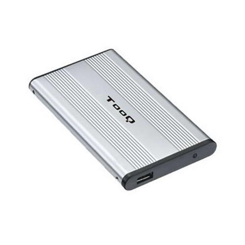 TooQ TQE-2510S - Carcasa para Discos Duros HDD de 2.5